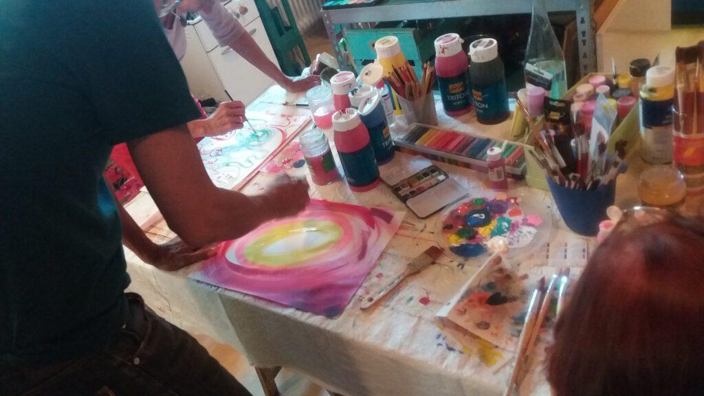 Intuitives Malen Workshop